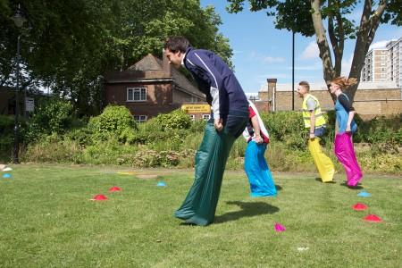 London 2012: HAGA joins in the fun.