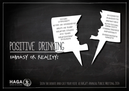 Join the debate and cast your votes at HAGA action on alcohol's Annual Public Meeting 2014, HAGA, action on alcohol