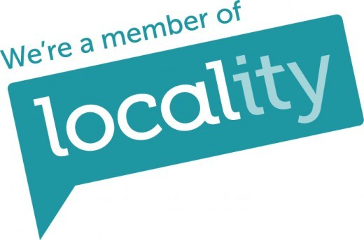 We are a member of Locality.